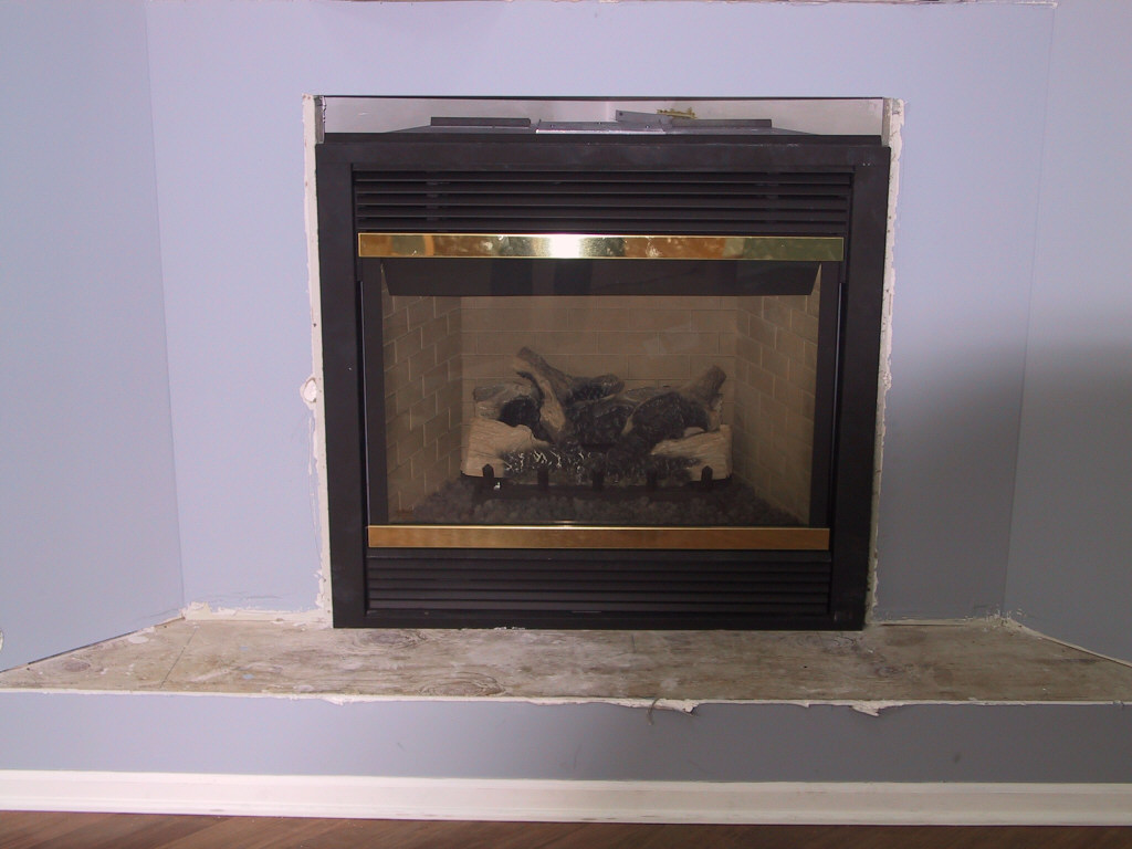 Snortfolio Before During And After Fireplace
