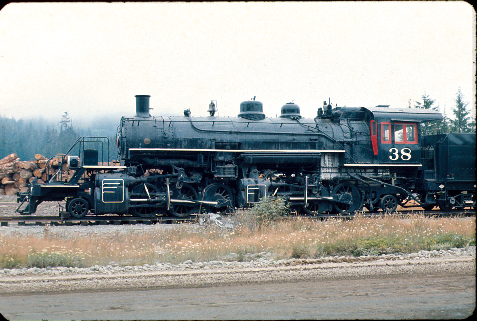 Fireman-side view of the Rayonier 38.35mm slide. Same collection.